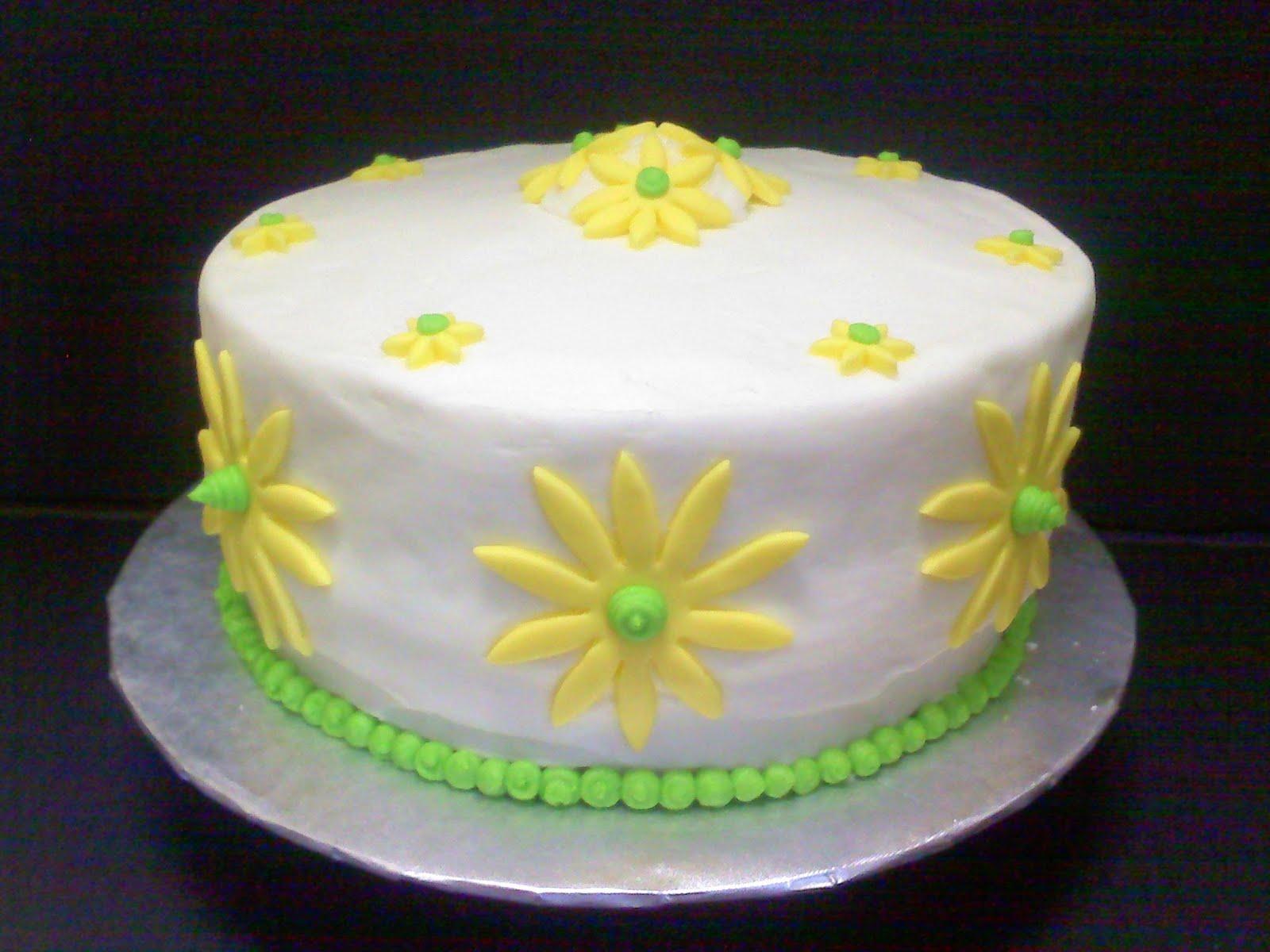 Just Add Cake Daisy Birthday Cake