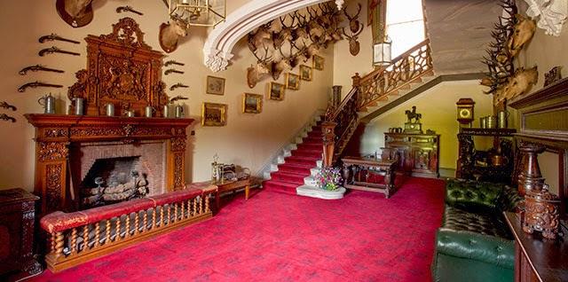 Brodick Castle entrance hall