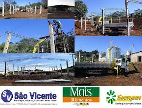 Metalurgica São Vicente é especializada em construção de barracões industriais