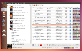 Clementine music player 1.2 screenshot