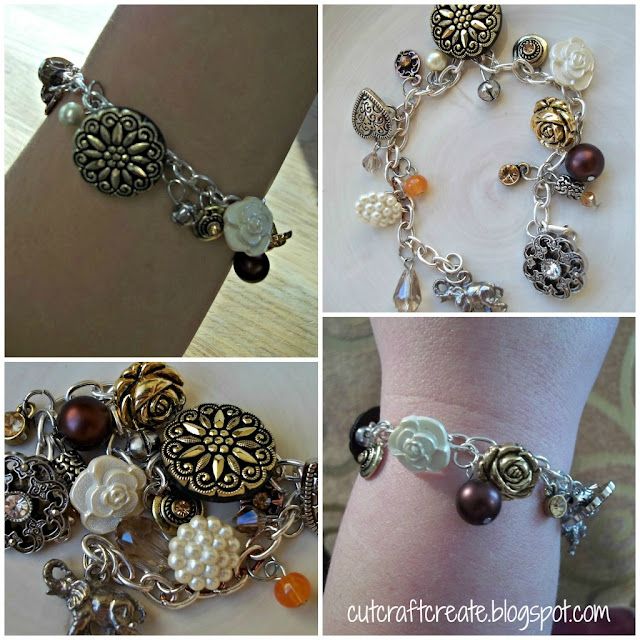 Design Your Own Custom Bangle Charm Bracelet Pick Your Charms: Cut, Craft, Create: Make Your Own Charm Bracelet (Using