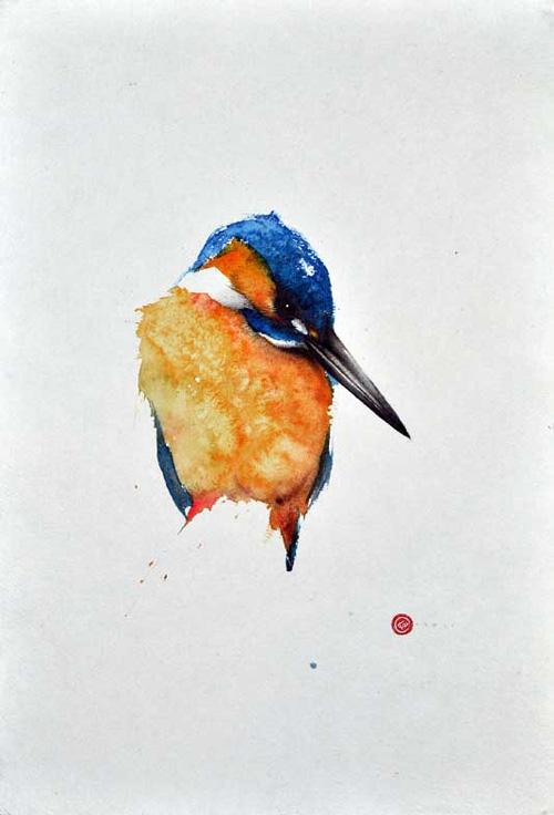 My Owl Barn Karl Martens Watercolor Paintings