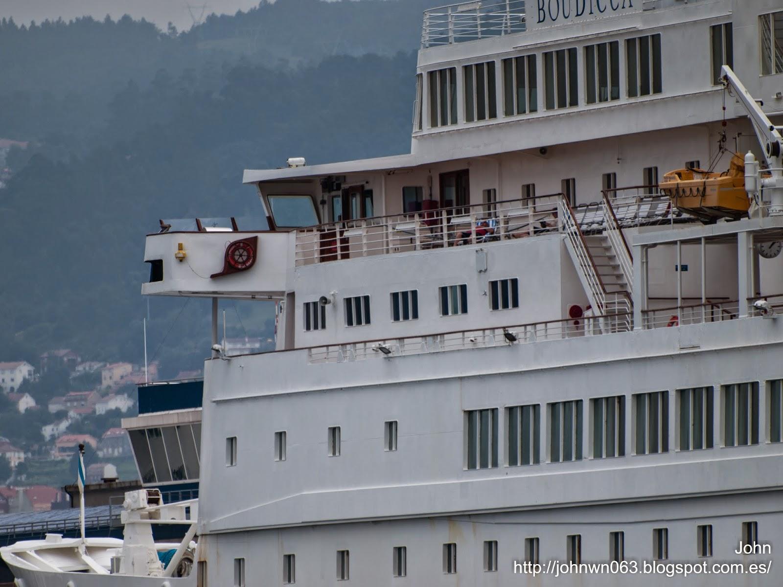 boudicca, fotos de barcos, imagenes de barcos, cruceros, Fred Olsen, Vigo