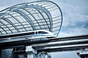 Shanghái, tren de levitación magnética