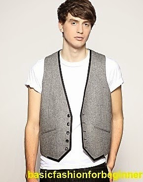Waistcoat with T-shirt