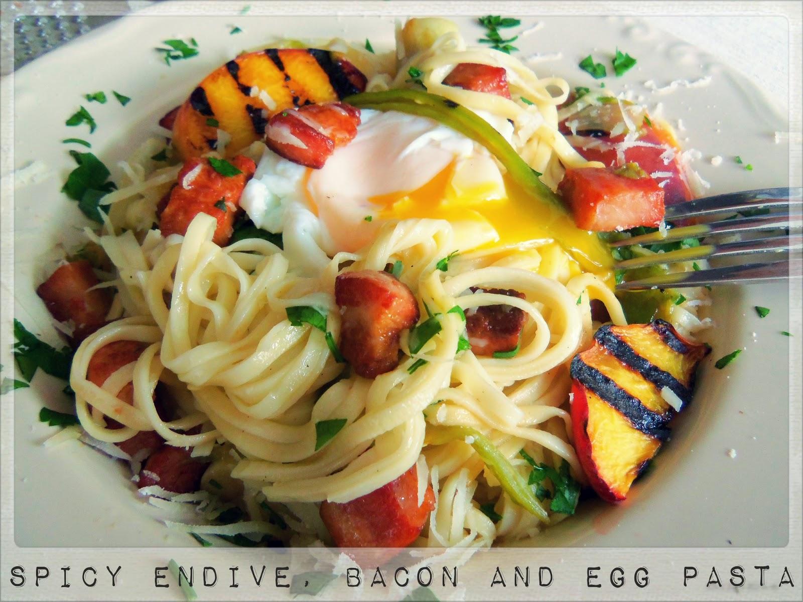 Bacon and egg pasta recipes