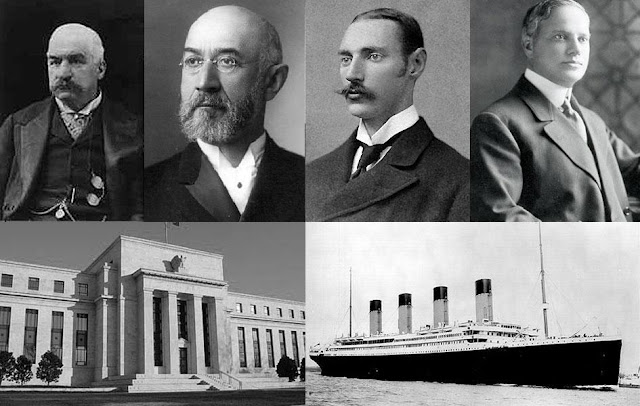 The Rothschild's Sank The Titanic to Set UP The Federal Reserve