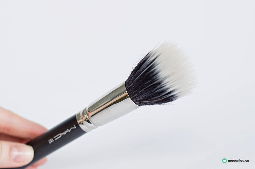 Just J: Megan of Megan Joy loves the MAC 187 Duo Fiber face brush