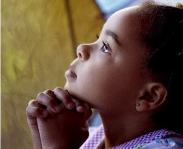 Busque a Deus com a inocência de uma criança, pois só assim, o seu coração será puro...