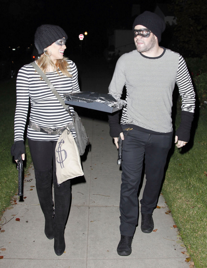 Hilary Duff Burglar Halloween Costume
