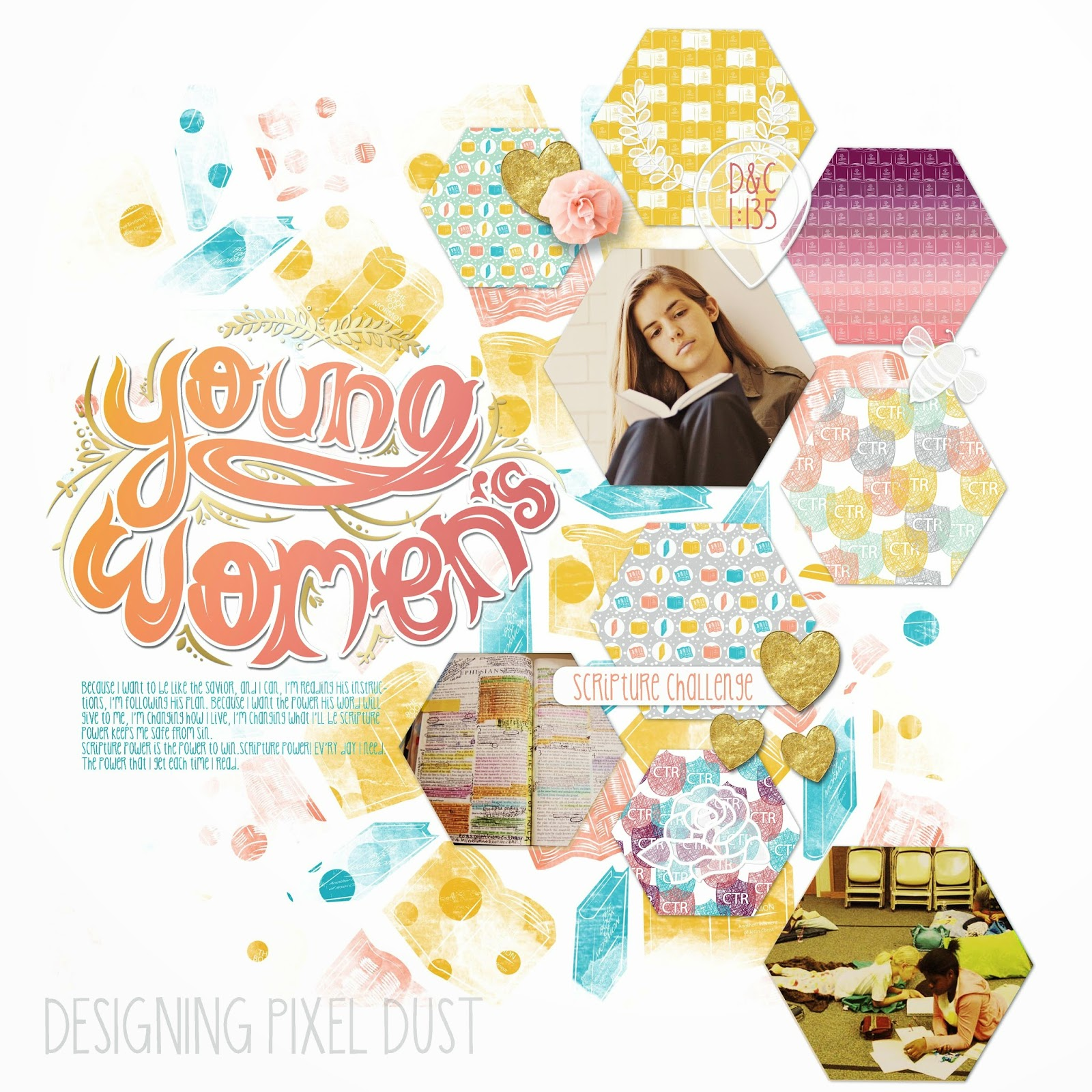 Yw scrapbook paper - Here Is The Free Mini Kit For You To Try Out