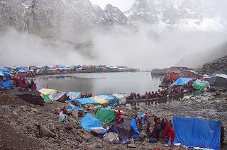 Manimahesh Lake in Himachal Pradesh