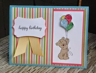 Birthday Bear - Card Example