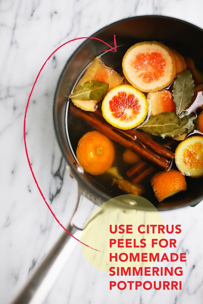 Homemade Citrus Simmering Potpourri | Pomelo Blog by Brittany Wood