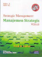 toko buku rahma: buku STRATEGIC MANAGEMENT, pengarang fres r. david, penerbit salemba empat