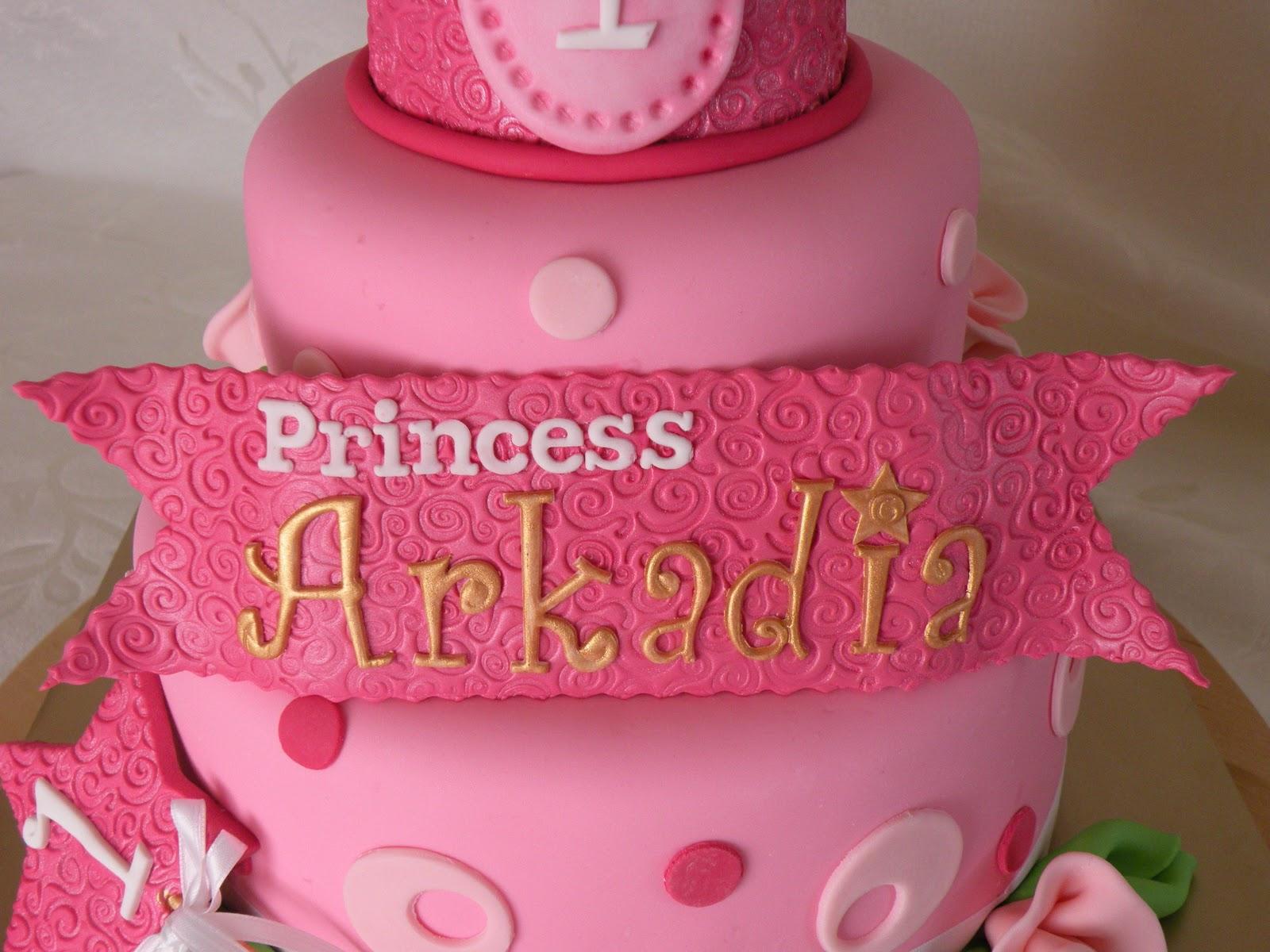 Teresas Tasty Temptations Arkadias 1st Birthday Princess Cake