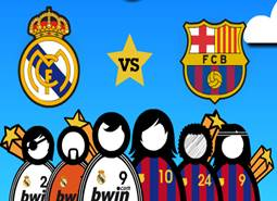Barcelona Real Madrid Oyunu