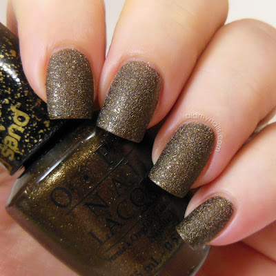 OPI What Wizardry is This? Liquid Sand swatch