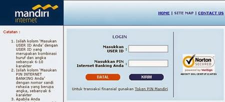 Cara Menggunakan Internet Banking Mandiri