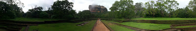 Sigiriya Water Gardens, high quality pictures, panorama photographs, pool cascade, road, beautiful pools, fountains, terraces, ponds