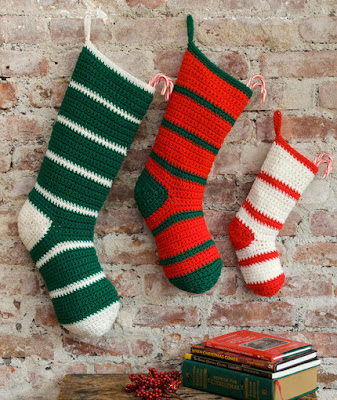 Crochet a Super Simple, Quick and Easy Christmas Stocking-Free Pattern