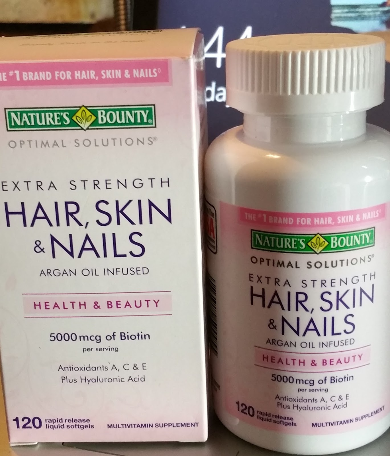 Nature S Bounty Optimal Solutions Hair Skin And Nails Review