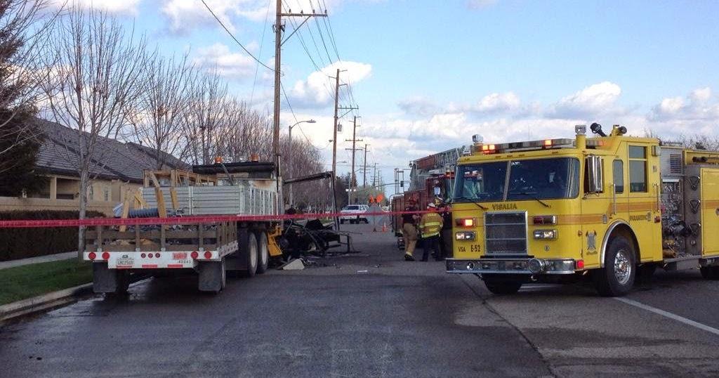 Fresno visalia bakersfield accidents fatal fiery van for West valley motor vehicle
