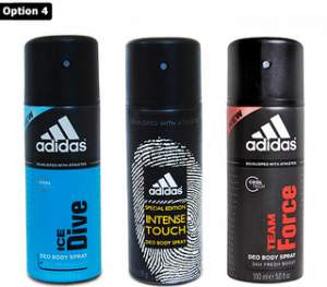 adidas sports deodorants lowest price