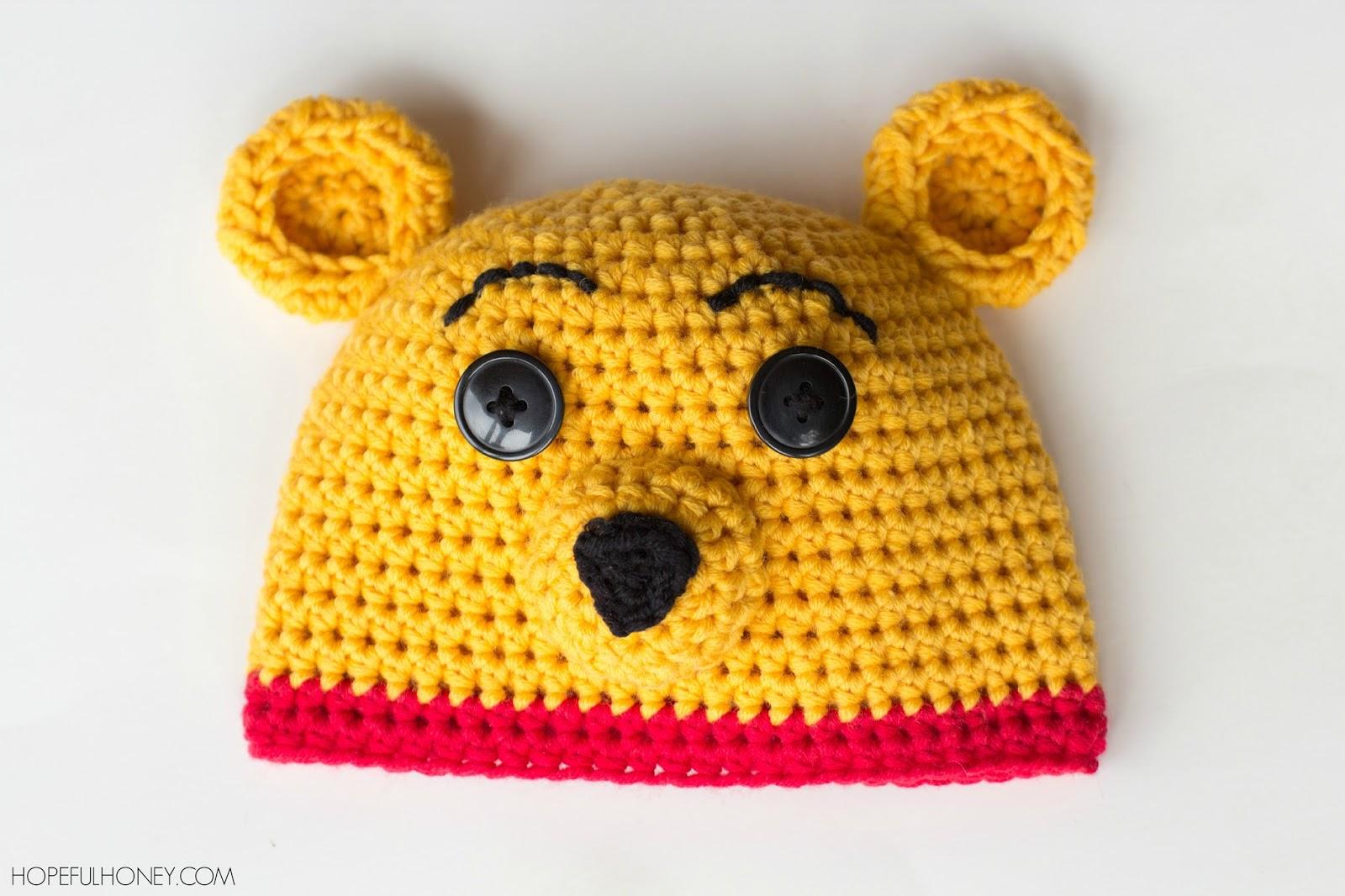 Hopeful Honey Craft, Crochet, Create: Winnie The Pooh ...