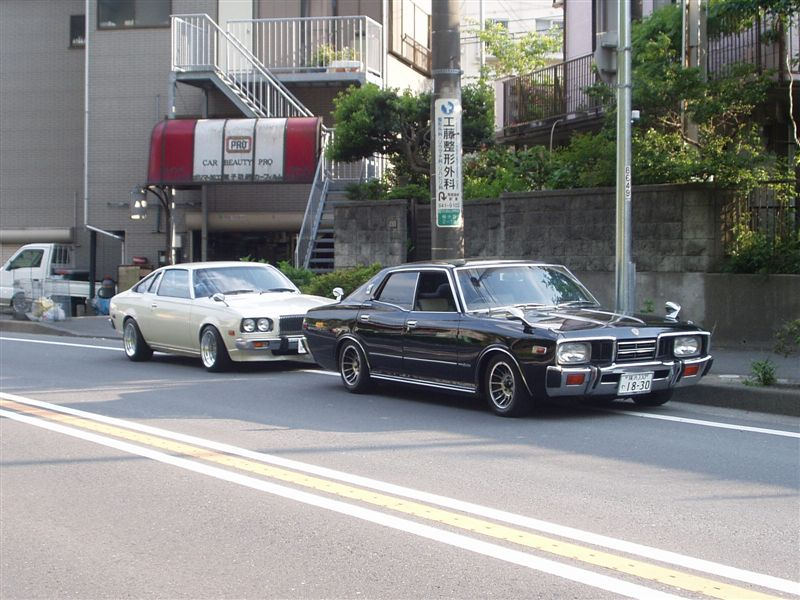 Mazda Cosmo AP & Nissan Cedric 330
