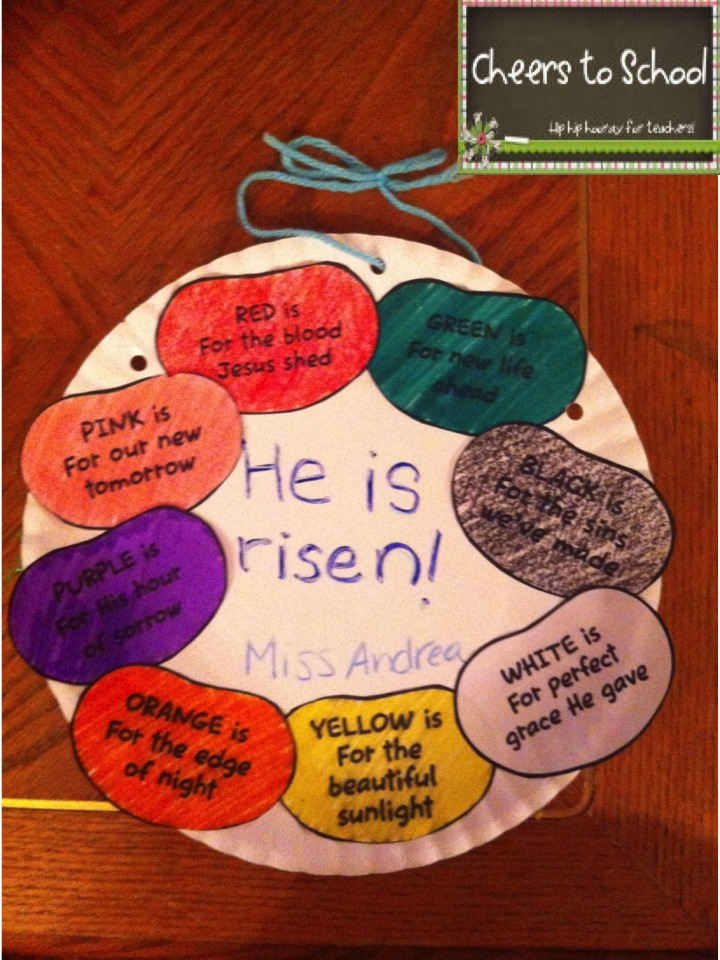 Cheers to school easter crafts for Christian sunday school crafts