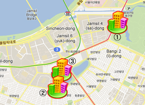 IPNFA Annual General Meeting 2013 Korea Hotel Information and Map