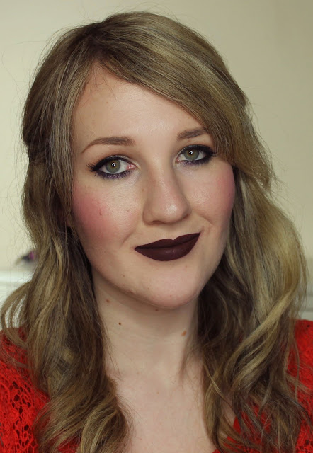 Darling Girl Pucker Paint Matte Lip Cream - Evil Queen lipstick swatches & review
