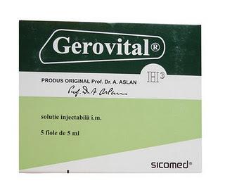 Gerovital H3 Tablets