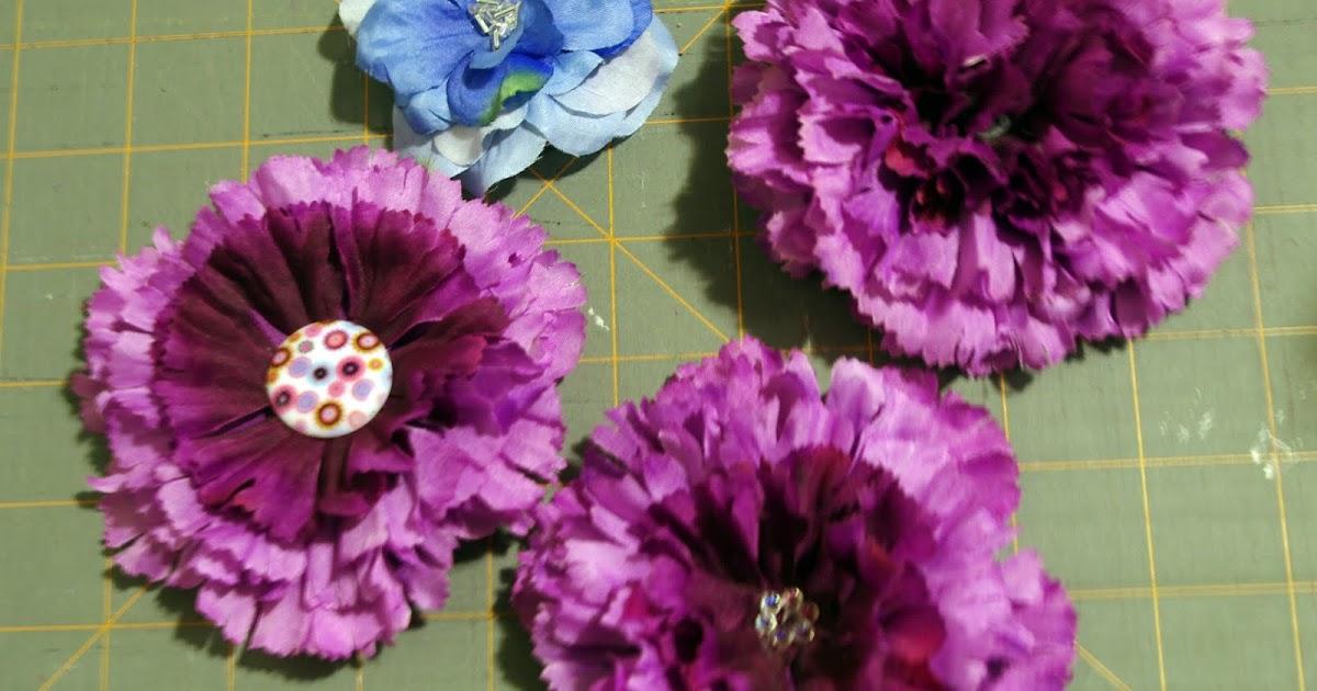 SquigglyTwigs Designs Tuesdays Tute Silk FlowerHair