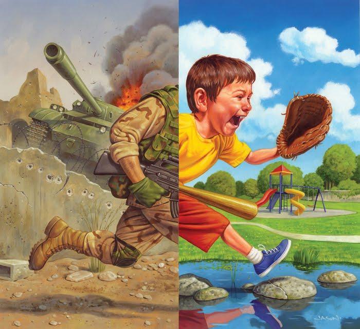 CHOOSE-War or Norma Childhood