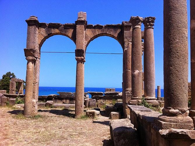 ruines romaines byzantines