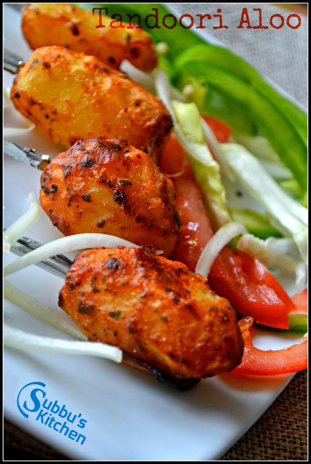 Tandoori Aloo | Baked Baby Potatoes