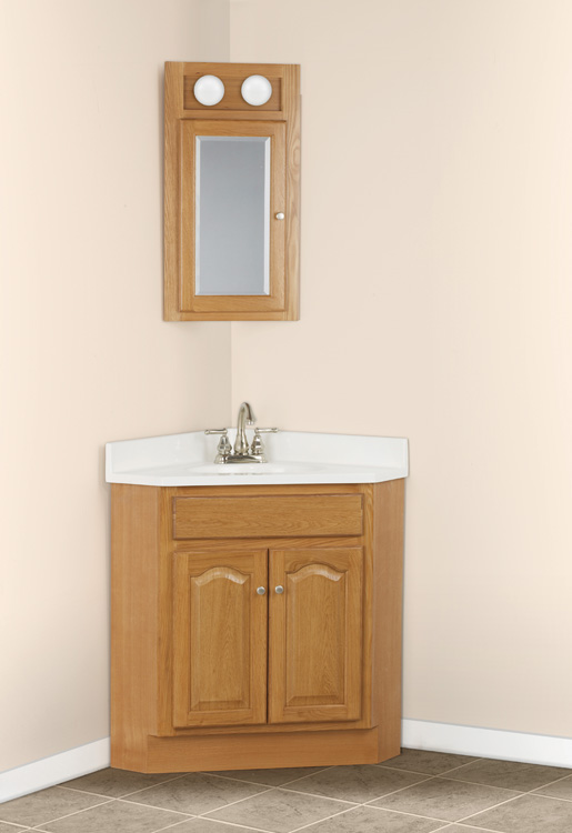 Bathroom Corner Sink Vanity : Corner Bathing Room Vanities - Excellent Bathroom