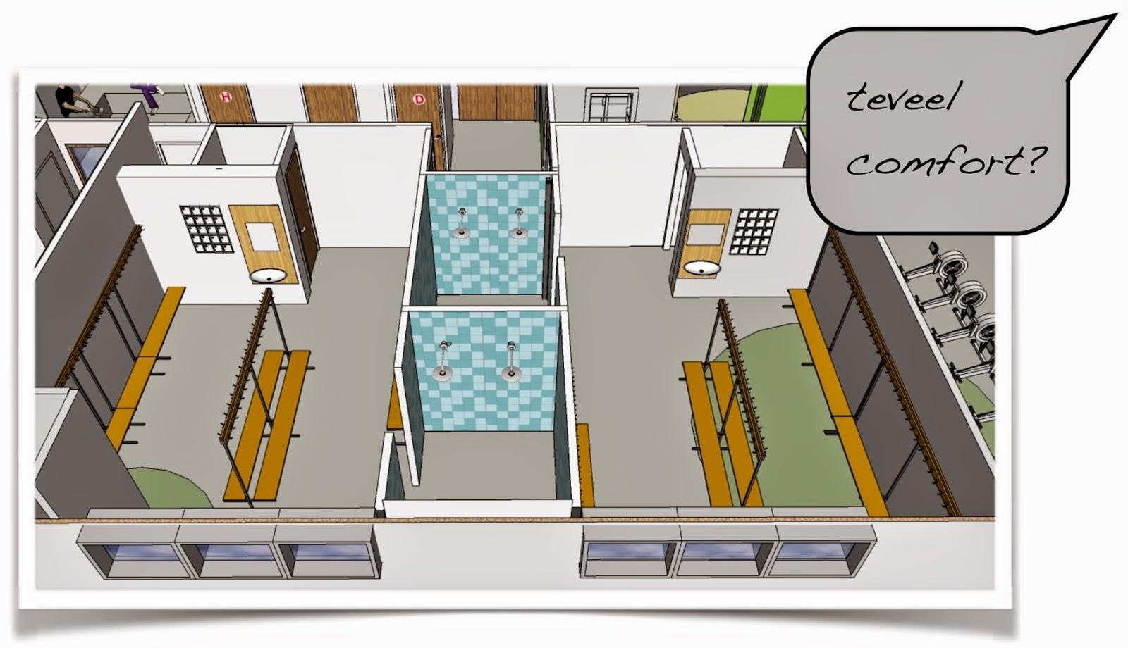 Huis van de watersport april 2014 - Plan ouderslaapkamer met badkamer en kleedkamer ...