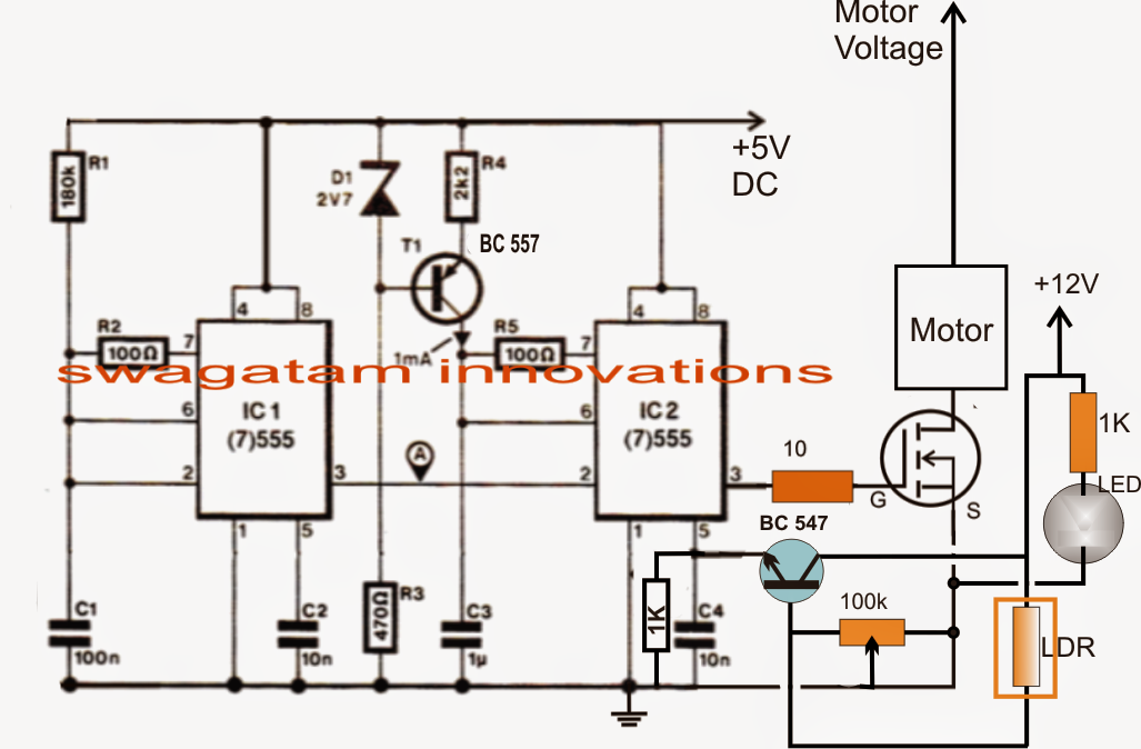 How to Build a Pedal Speed Controller Circuit for Electric Vehicles Part-2