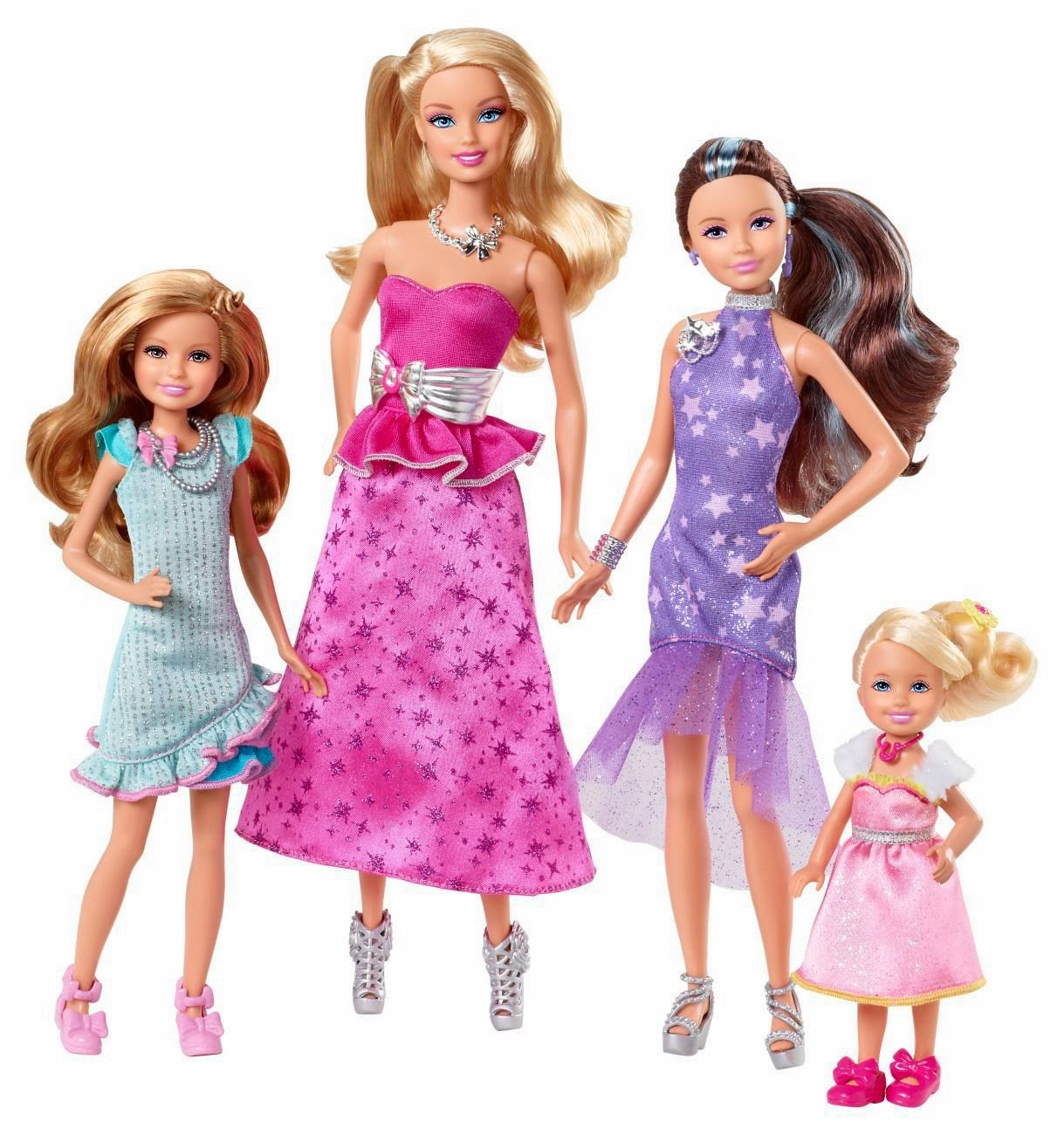 Toys For Siblings : New age mama barbie her sisters in a pony tale dvd and