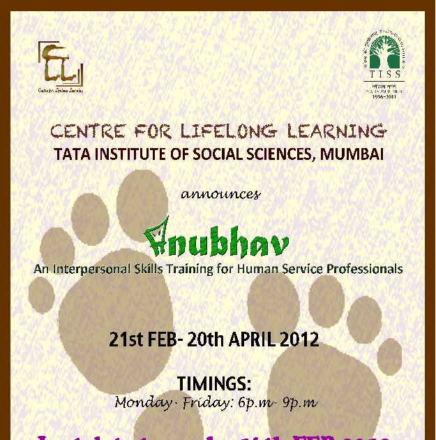 Aasra & NGO Forum of Navi Mumbai: Interpersonal Skills ...