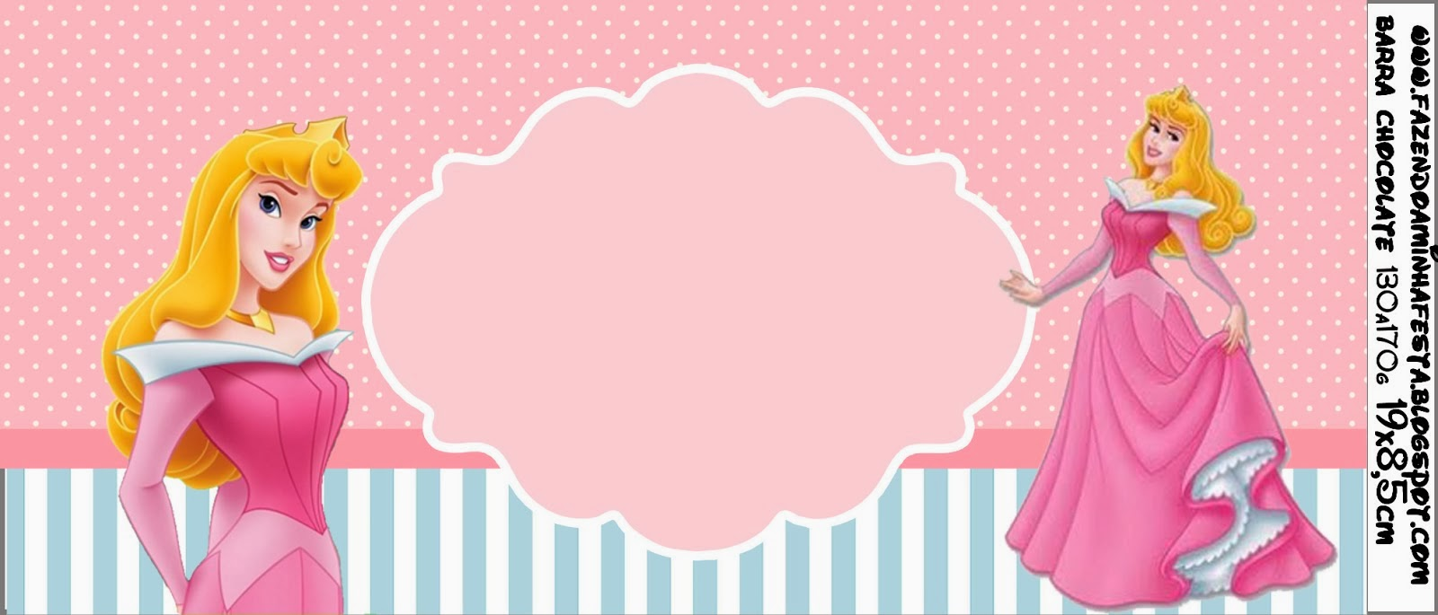 sleeping beauty free printable candy bar labels oh my