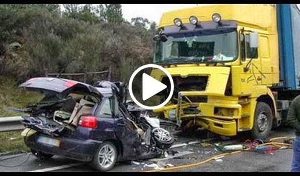 Funny Car Accident Compilation New