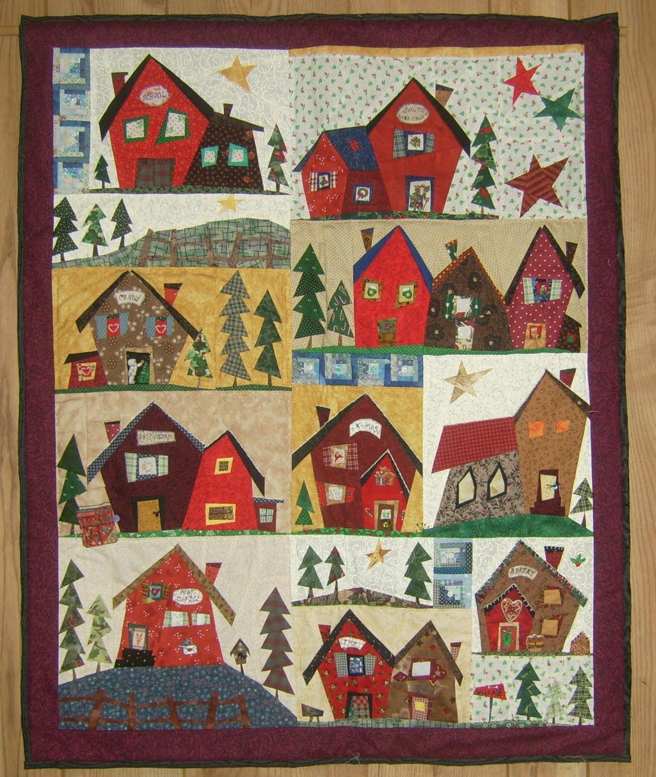 Quilt Tassen : Quiltersgilde kerstquilts