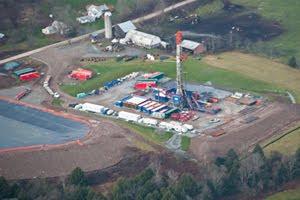A Hydrofrack Drilling Pad