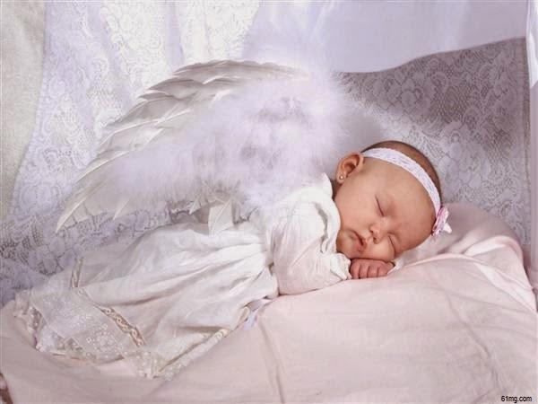 Image joli bébé ange