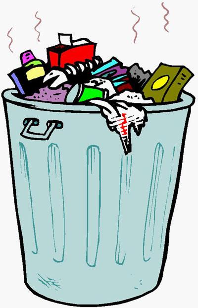 Orang Membuang Sampah
