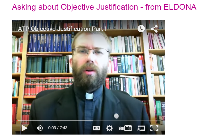 <b>Video Series on Justification, Parts 1-3</b>